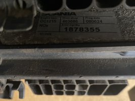 Блок управления двигателем ECU EMS Scania DC1215