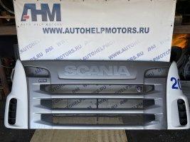 Решетка радиатора (капот) в сборе Scania