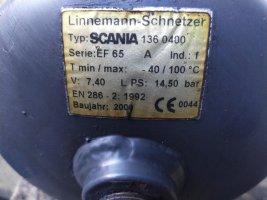 Ресивер сжатого воздуха Scania