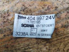 Моторчик стеклоочистителя Scania