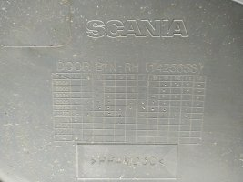 Обшивка двери (дверная карта) RH Scania