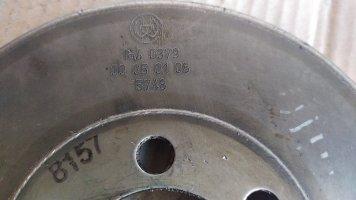 Демпфер колебаний двигателя DAF105XF
