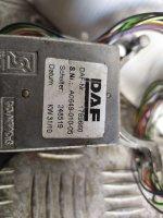 Переключатель поворотов и дворников DAF105XF