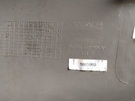 Дверная карта левая DAF105XF