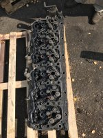 Головка блока цилиндров MX340 DAF105XF